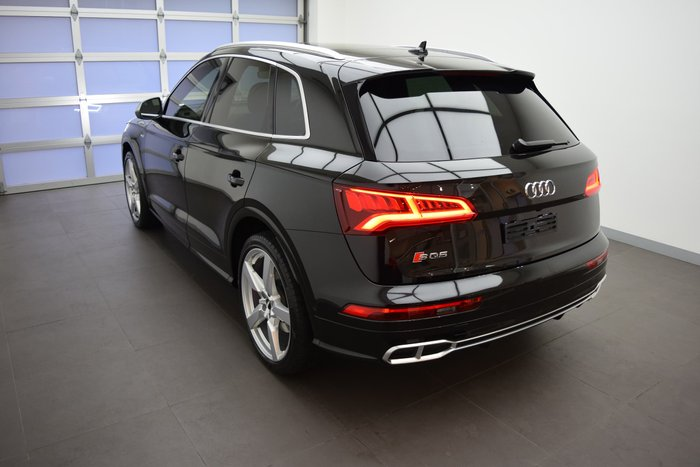 2017 Audi SQ5 FY MY18 Four Wheel Drive Black