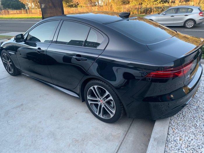 2019 Jaguar XE P300 R-Dynamic SE X760 MY20 Santorini Black