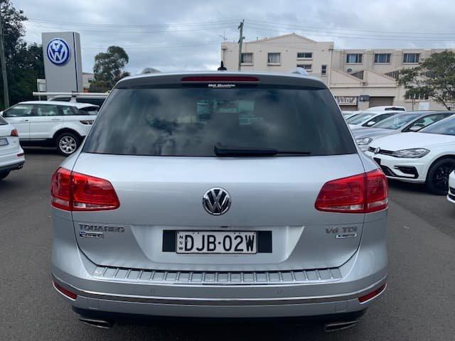 2016 Volkswagen Touareg 150TDI Element 7P MY16 Four Wheel Drive Silver