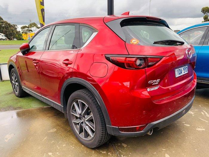 2017 Mazda CX-5 Grand Touring KE Series 2 4X4 On Demand Red