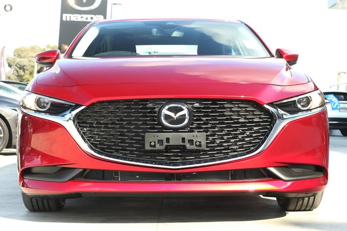 2020 Mazda 3 G25 Evolve BP Series Red
