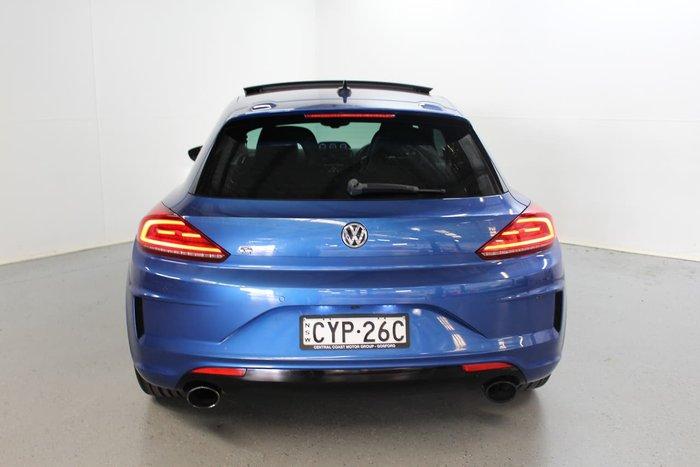 2015 Volkswagen Scirocco R 1S MY16 Blue