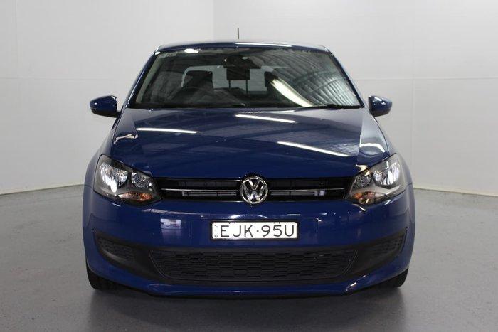 2012 Volkswagen Polo 77TSI Comfortline 6R MY12.5 Blue