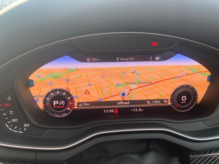 2018 Audi RS5 F5 MY19 Four Wheel Drive Grey