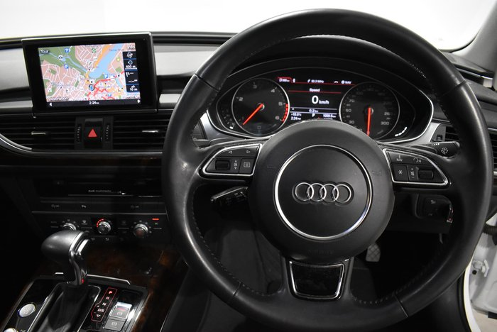 2013 Audi A6 Bi-Turbo C7 MY13 Four Wheel Drive White