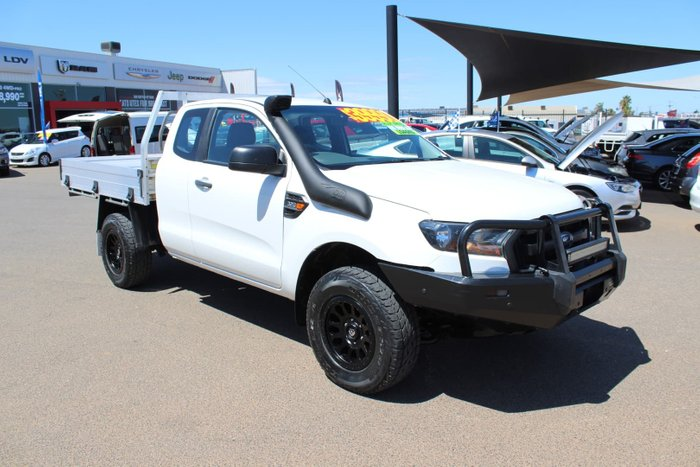 2018 Ford Ranger XL PX MkII MY18 4X4 Dual Range Cool White