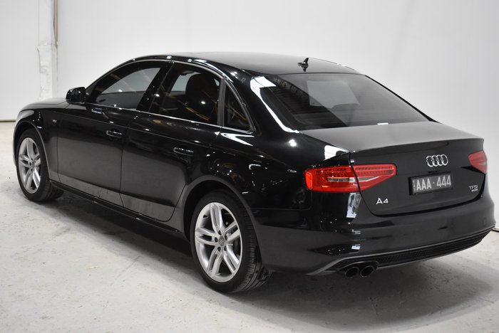 2014 Audi A4 B8 MY14 Four Wheel Drive Black