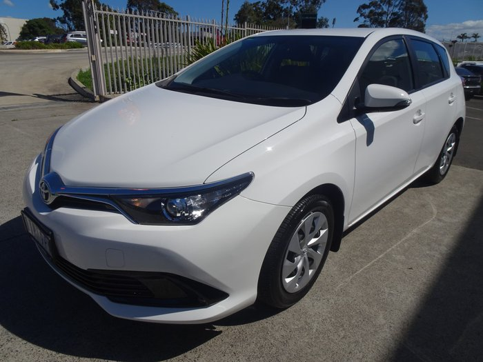 2016 Toyota Corolla Ascent ZRE182R White