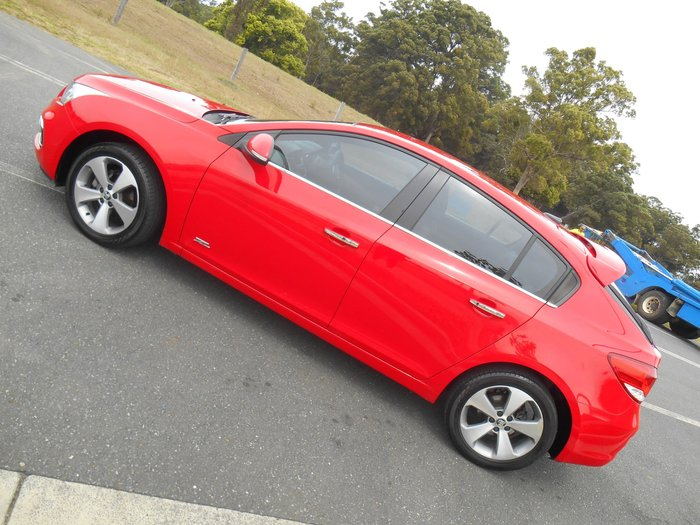 2016 Holden Cruze Z-Series JH Series II MY16 Red