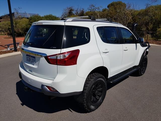 2016 Isuzu MU-X LS-M MY15 4X4 Dual Range White