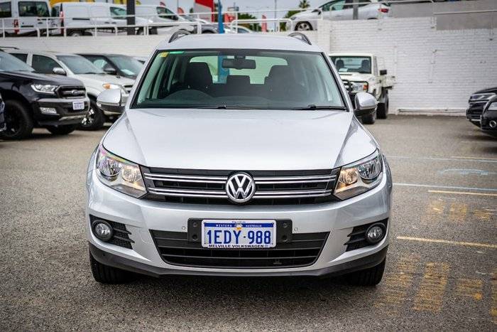 2013 Volkswagen Tiguan 132TSI Pacific 5N MY14 Four Wheel Drive Silver