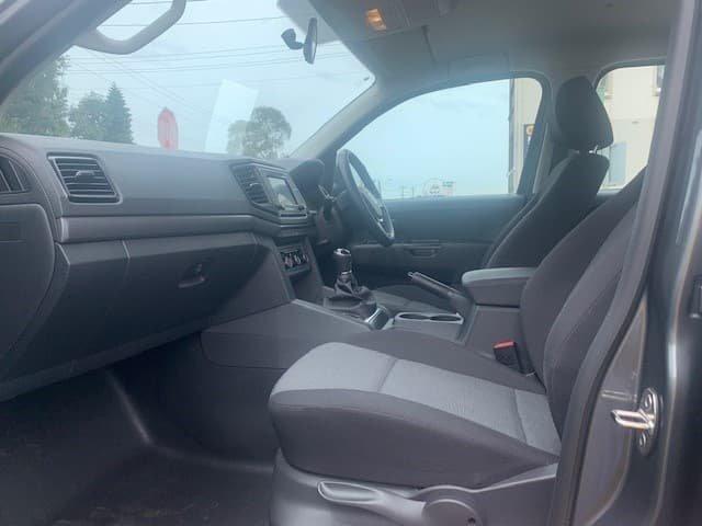2019 Volkswagen Amarok TDI500 Core 2H MY20 4X4 Dual Range Grey