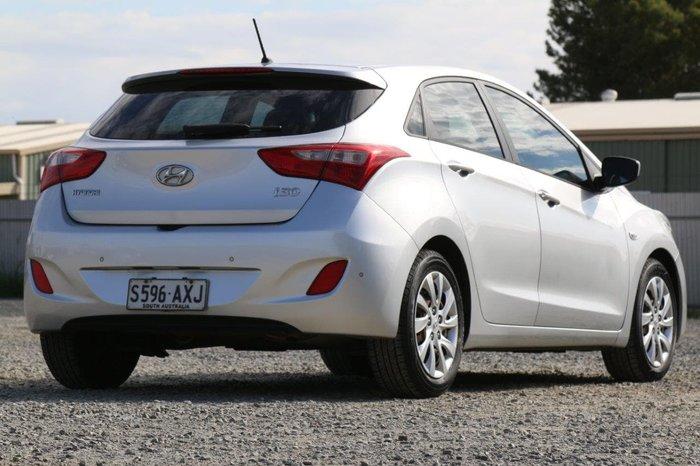 2013 Hyundai i30 Active GD Silver