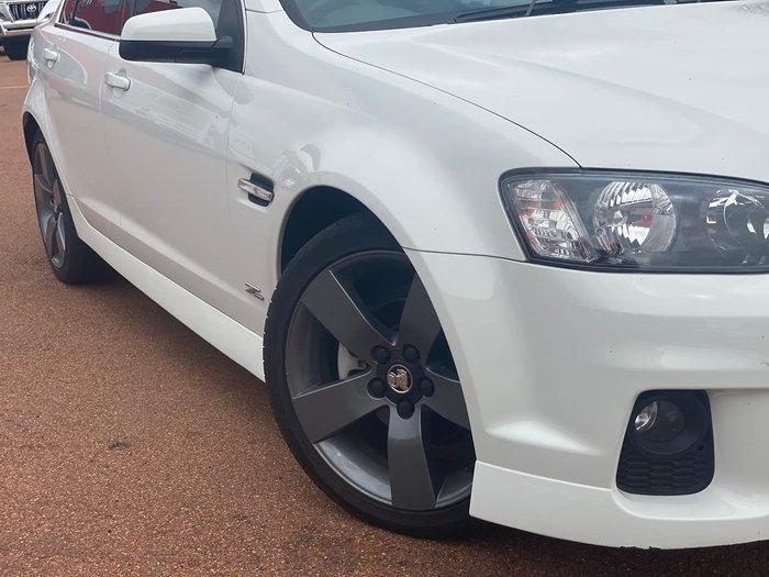 2013 Holden Commodore SV6 VE Series II MY12.5 White