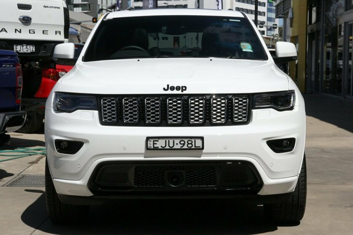 2020 Cjd Grand Cherokee NIGHT EAGLE 4x4 3.0L T/D 8A Wagon 4WD Bright White