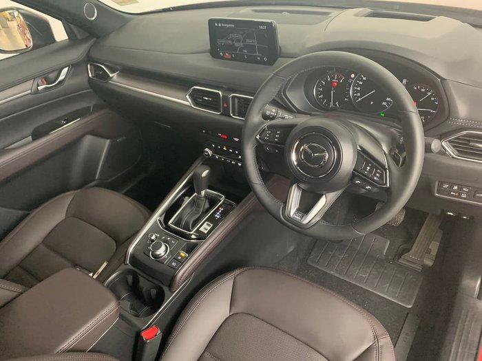 2020 Mazda CX-5 Akera KF Series 4X4 On Demand Snowflake White Pearl