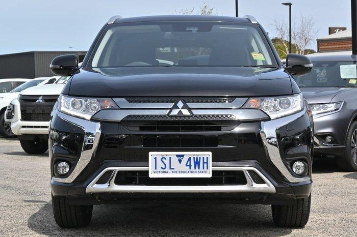 2020 Mitsubishi Outlander PHEV ES ADAS ZL MY20 Four Wheel Drive Black