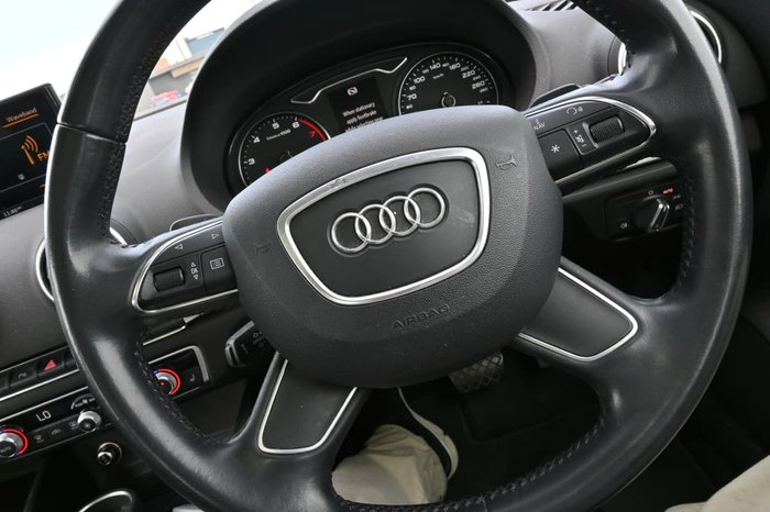 2014 Audi A3 Attraction 8V MY14 White