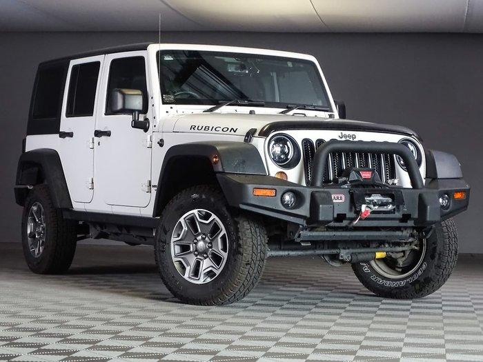 2013 Jeep Wrangler Unlimited Rubicon JK MY13 4X4 White