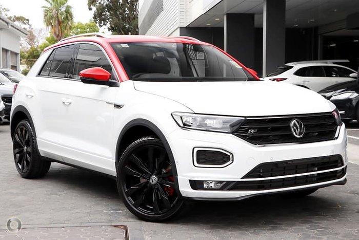 2020 Volkswagen T-Roc 140TSI X A1 MY20 Four Wheel Drive White