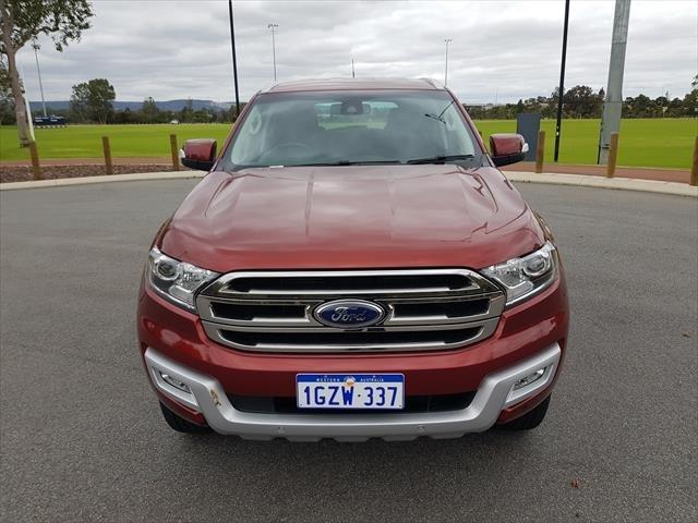 2016 Ford Everest Trend UA 4X4 Dual Range Maroon