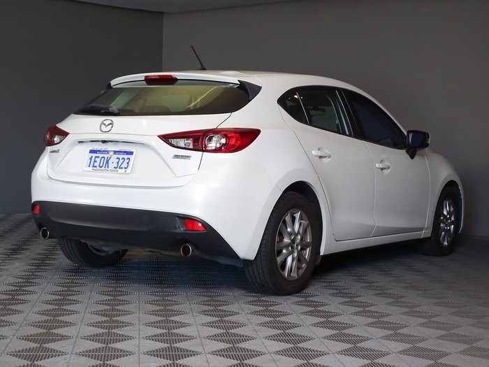 2014 Mazda 3 Touring BM Series White