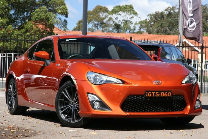 2012 Toyota 86 GTS ZN6 ORANGE