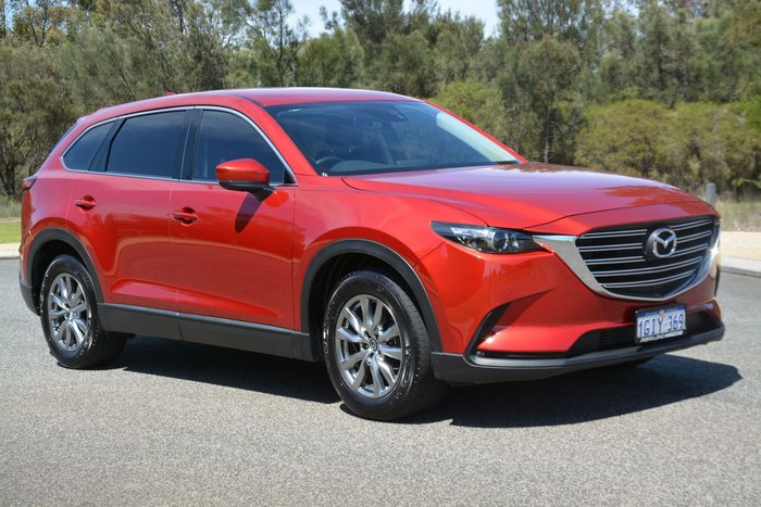 2017 Mazda CX-9 Touring TC 4X4 On Demand Red
