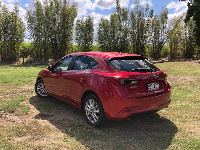 2017 Mazda 3 Maxx BN Series Red