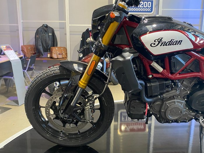 2019 Indian FTR 1200 S RACE REPLICA Red