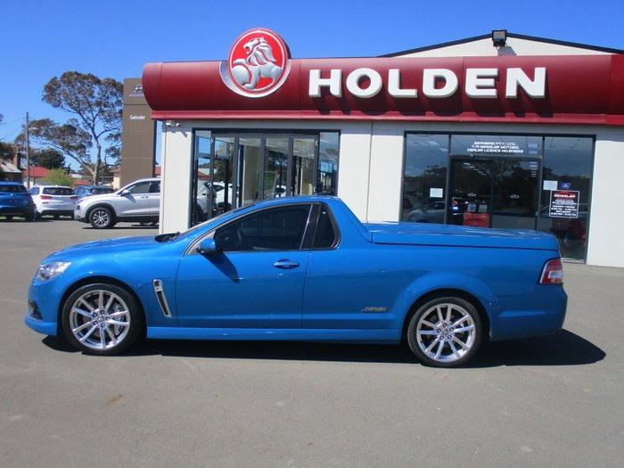 2013 Holden Ute SS V Redline VF MY14 Blue