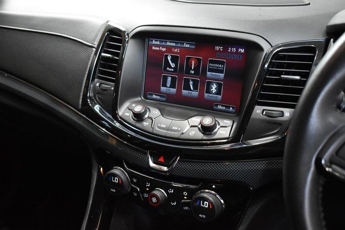2015 Holden Ute SV6 VF MY15 Black