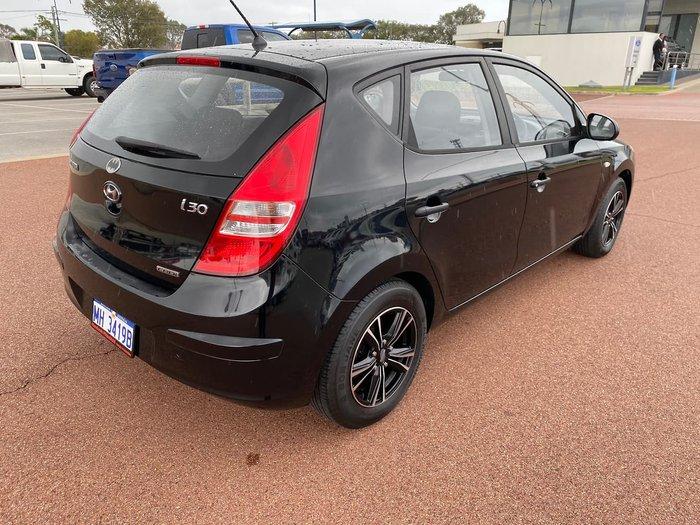 2012 Hyundai i30 SX FD MY11 Black