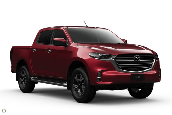 2020 MAZDA BT-50 XTR TF Red