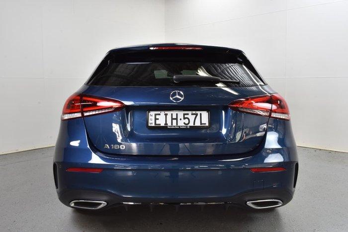 2019 Mercedes-Benz A-Class A180 W177 Blue