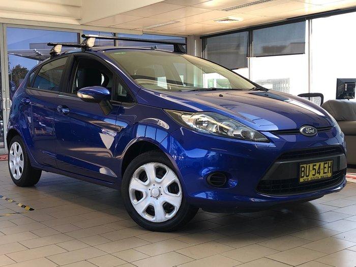 2013 Ford Fiesta CL WT Blue