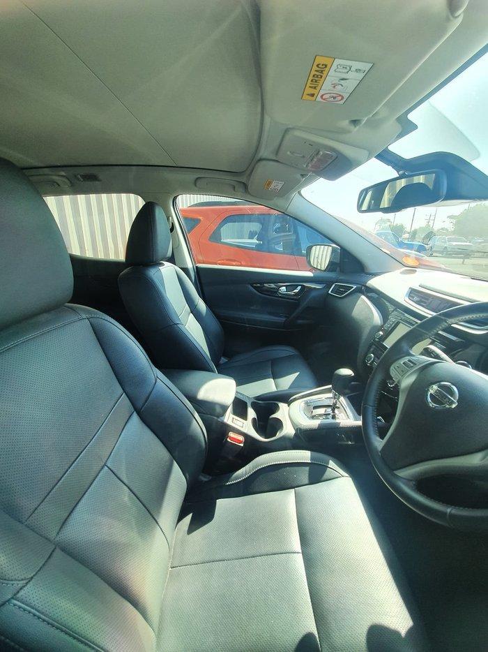 2016 Nissan QASHQAI Ti J11 Red
