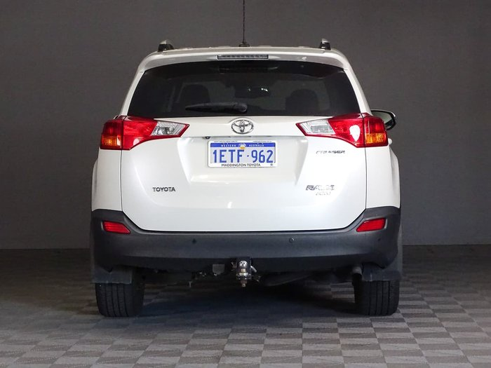 2015 Toyota RAV4 Cruiser ASA44R MY14 4X4 On Demand White