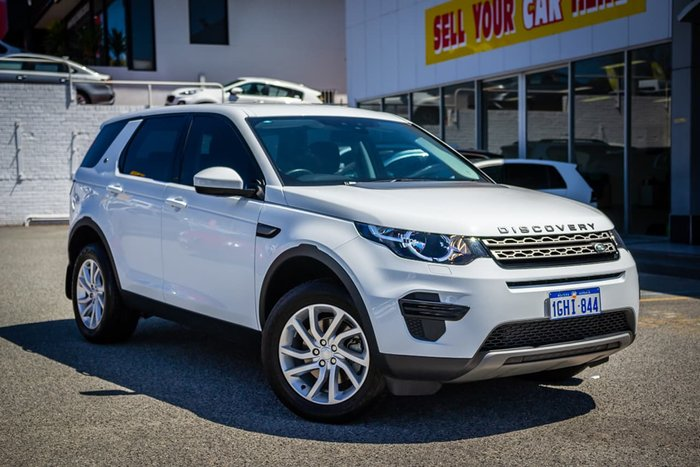 2017 Land Rover Discovery Sport Si4 SE L550 MY17 4X4 Constant White