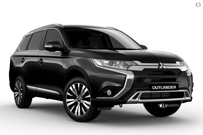 2020 Mitsubishi Outlander LS ZL MY20 Black