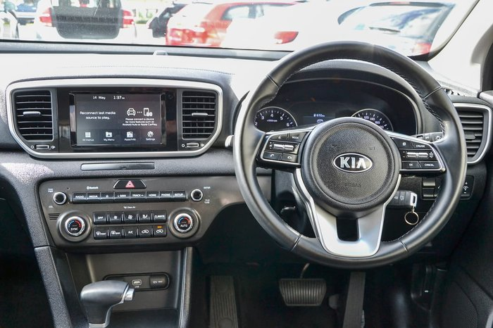 2019 Kia Sportage S QL MY20 White