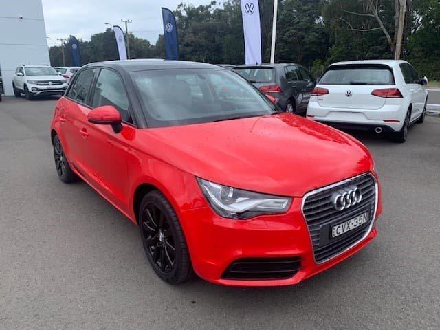 2014 Audi A1 Attraction 8X MY14 Red