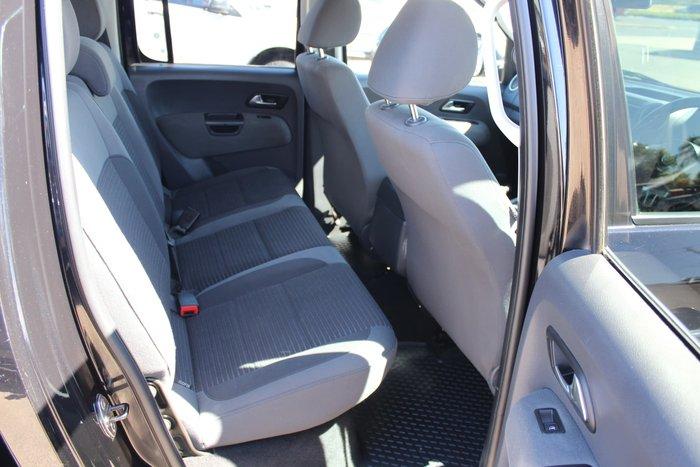 2012 Volkswagen Amarok TDI400 Highline 2H MY12 4X4 Dual Range Deep Black