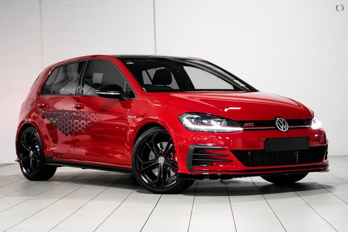 2020 Volkswagen Golf GTI TCR 7.5 MY20 Red
