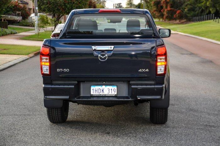 2020 Mazda BT-50 XTR TF 4X4 Dual Range Blue