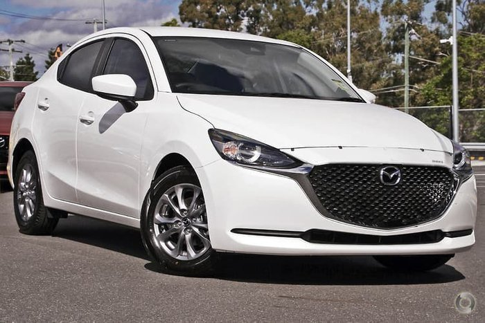 2020 Mazda 2 G15 Pure DL Series White