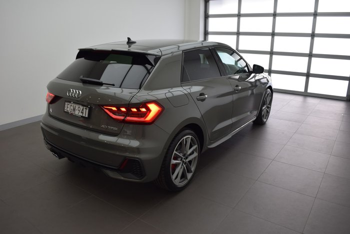 2019 Audi A1 40 TFSI S line GB MY20 Grey