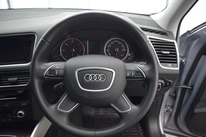 2015 Audi Q5 TDI 8R MY16 Four Wheel Drive Silver