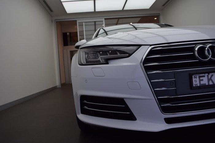 2015 Audi A4 sport B9 MY16 White