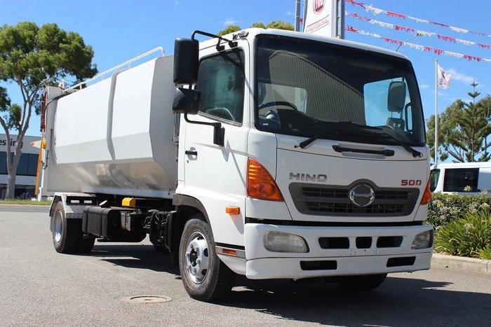 2014 HINO 500 SERIES FC1022 WHITE